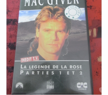 Photos Vivastreet VHS série Mac gyver