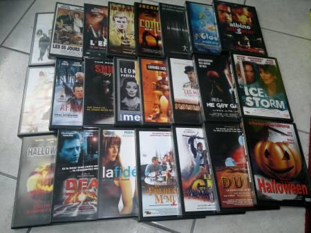 Photos Vivastreet Lot de 23 dvd doubles films par boitiers