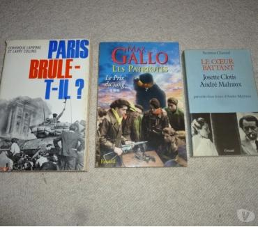 Photos Vivastreet 3 livres écrit pendant la période de guerre