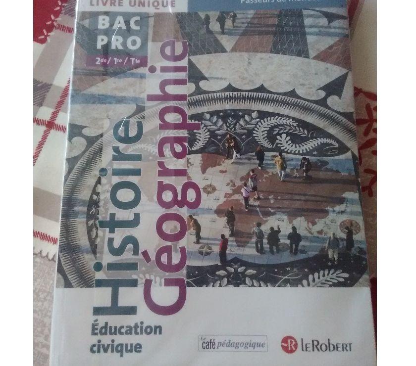 Photos Vivastreet bac pro histoire géographie