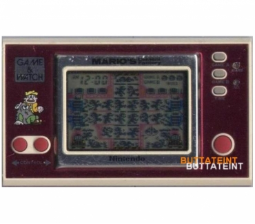 Photos Vivastreet LCD GAME & WATCH NINTENDO ML-102 SEUL - MARIO'S CEMENT FACTO