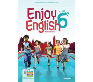 Photos Vivastreet LIVRE New Enjoy English 6e - + DVD-rom