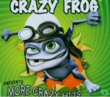 Photos Vivastreet Crazy Frog More Crazy Hits cd etat neuf sous blister