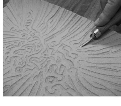 Photos Vivastreet Cours de Linogravure avec dessins préparatoires