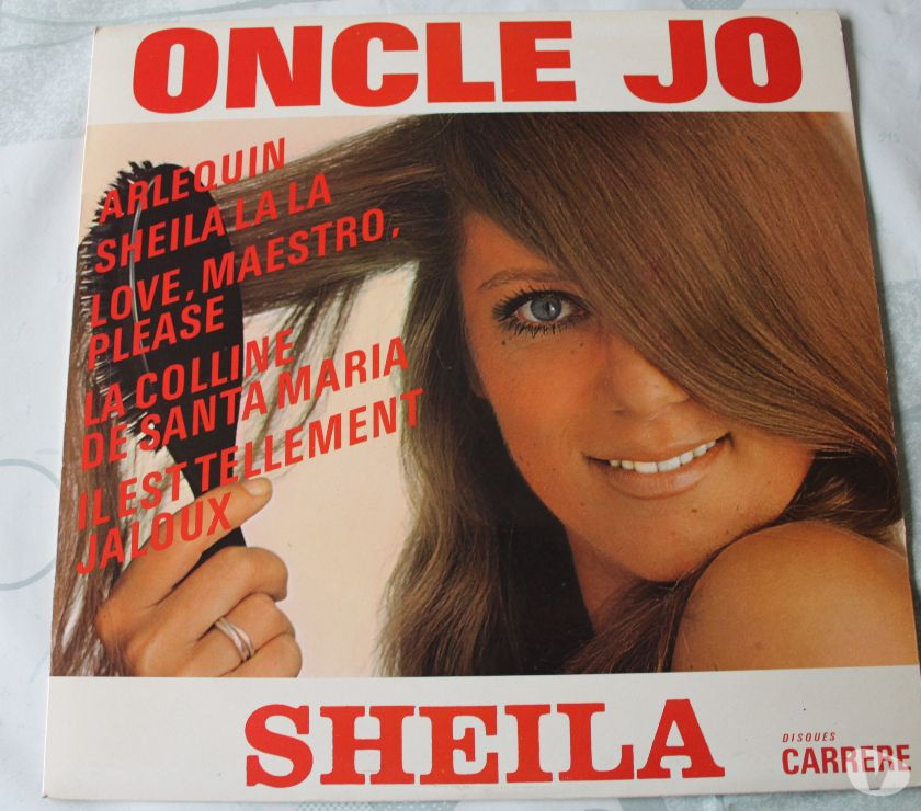 Photos Vivastreet Sheila -lp- oncle jo