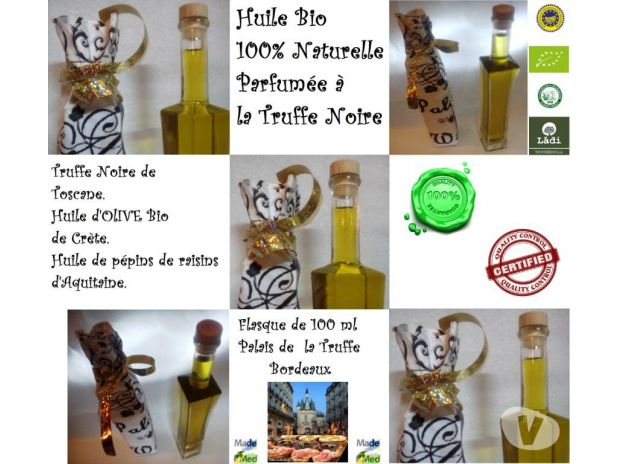 Photos Vivastreet Huile de Truffe Fraiche 100% Naturelle - Btle v. Luxe 100 cl