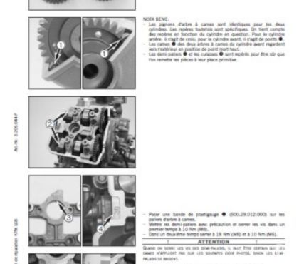 Photos Vivastreet Manuel atelier KTM LC8 - 2003 - 2013 - FR.