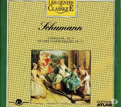 Photos Vivastreet CD Schumann Carnaval Op.9, 12 Etudes Symphonique Op.13