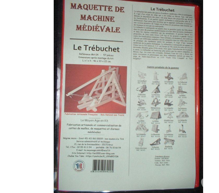 Photos Vivastreet Maquette de trébuchet médiéval