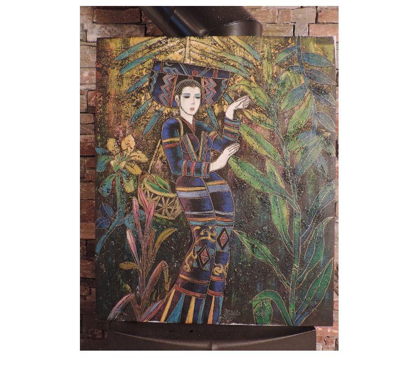 Photos Vivastreet Peinture sur toile motif femme asiatique