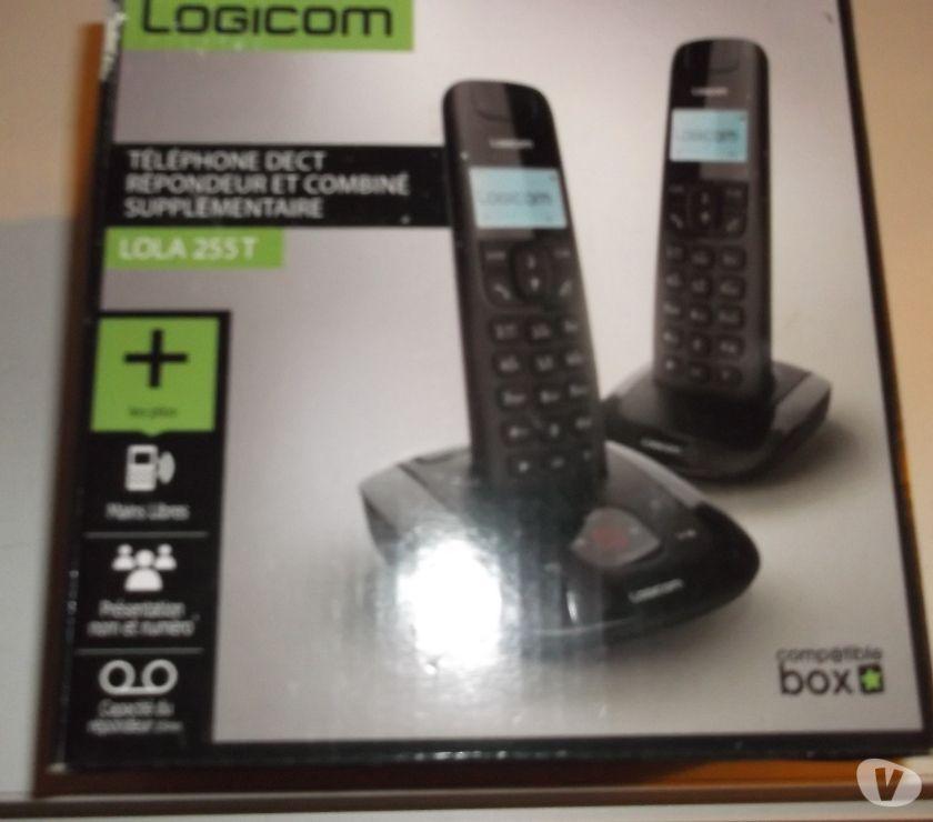 Photos Vivastreet TELEPHONE REPONDEUR LOLA 255 T NEUF (2 COMBINES )