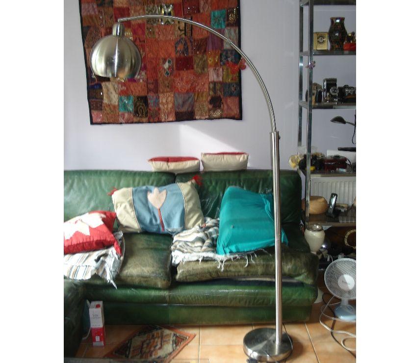 Décoration - art Yvelines Fontenay le Fleury - 78330 - Photos Vivastreet Lampadaire Lounge 175 cm gris métallique