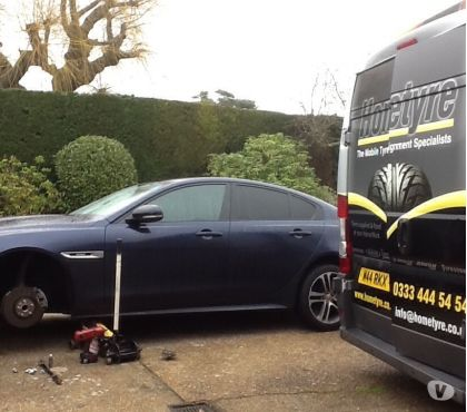 Photos for Continental tyres fitted at your location
