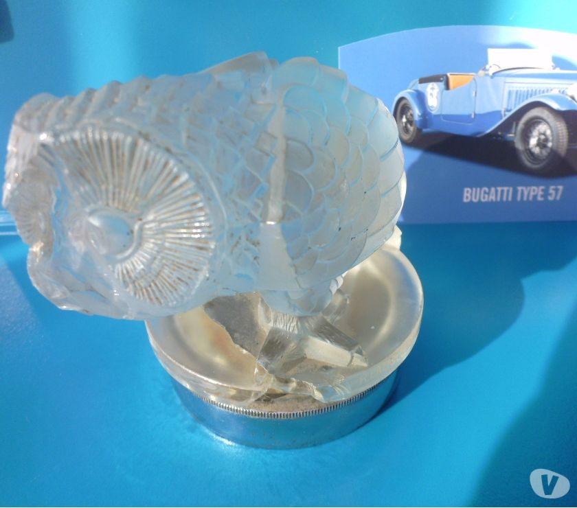 Photos for LALIQUE MASCOTS for collectors of fine exclusive automobilia