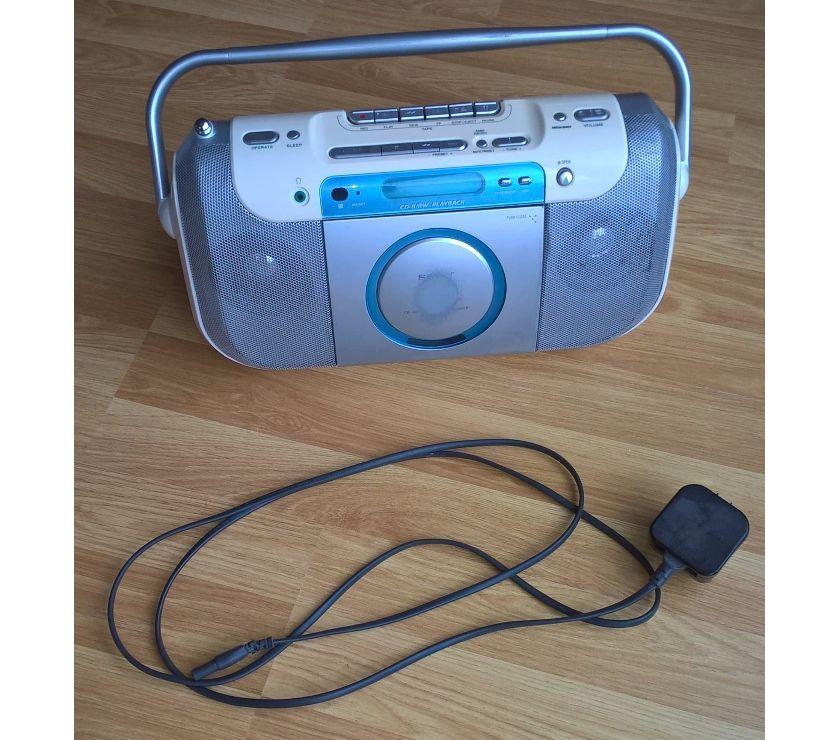 Photos for Portable CD, radio, cassette
