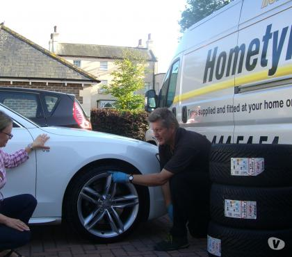 Photos for Audi tyres fitted at home