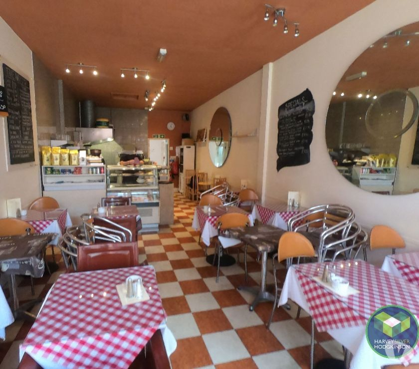 Shops/Businesses for sale - let Cheshire Northwich - Photos for LICENSED CAFE: NORTHWICH: REF: V9229