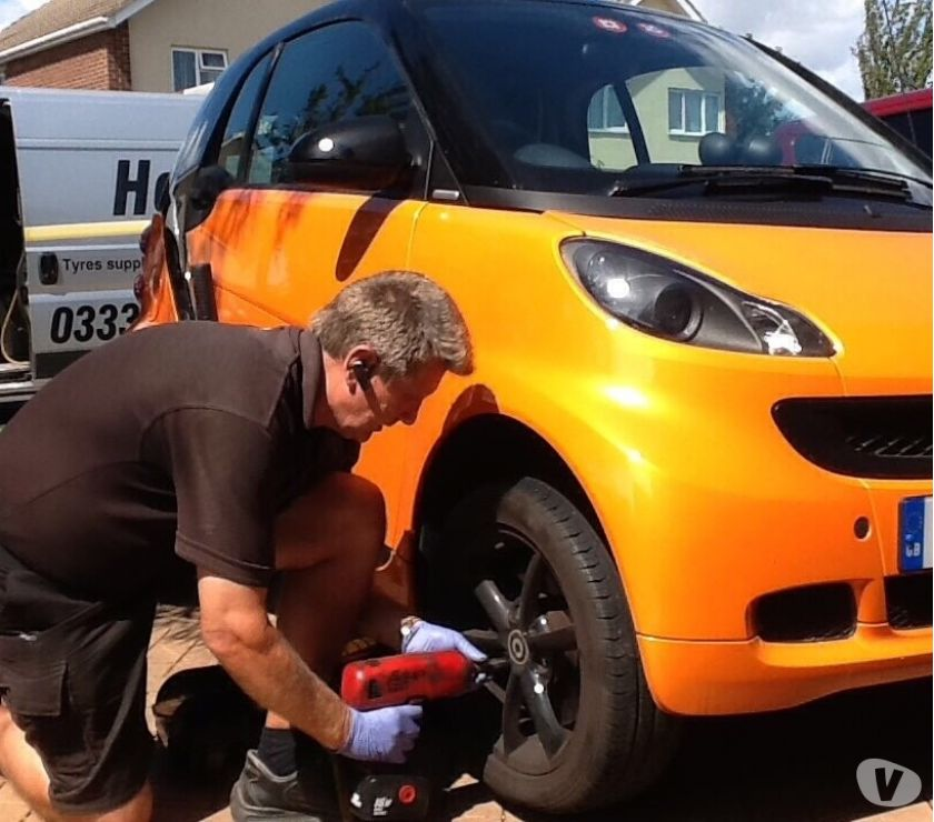 car spares West Sussex Littlehampton - Photos for Smart Fortwo tyres, mobile fitting service.