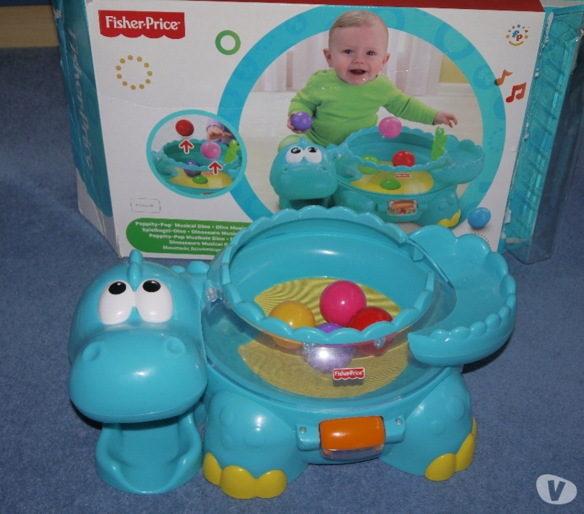 Photos for Fisher-Price Musical Dino with Bouncing Balls