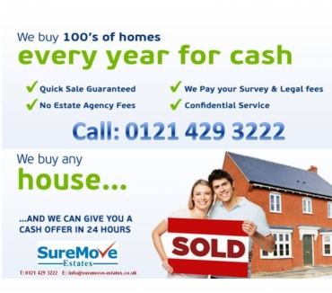 Photos for CASH FOR YOUR PROPERTY! CALL 0121 429 3222