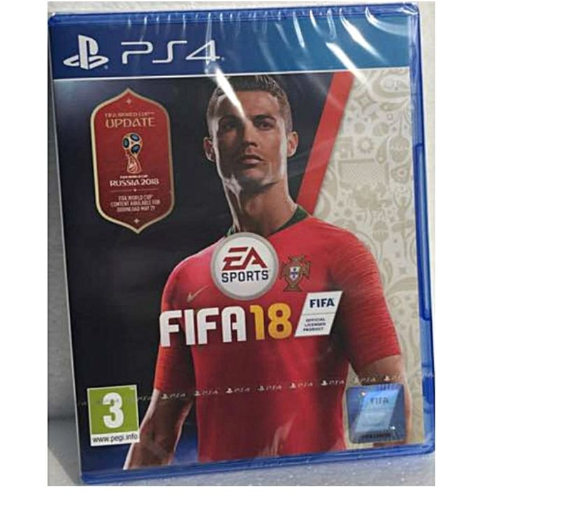 Cheap DVDs Bedfordshire Luton - Photos for FIFA 18 Inc FIFA 18 World Cup Russia Upgrade (PS4) New & Sea