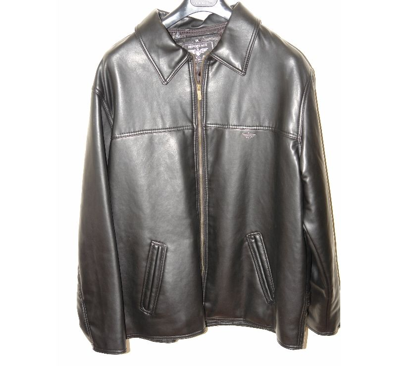 Photos for Unisex Faux-leather jacket