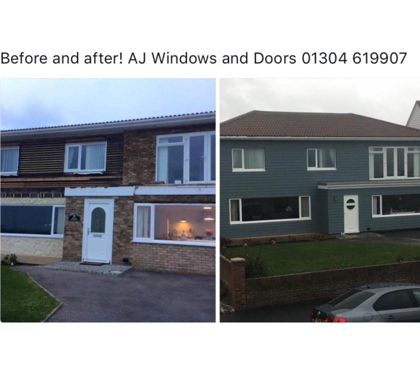 Photos for A Windows and Doors ..... Cement Cladding 01304 619907