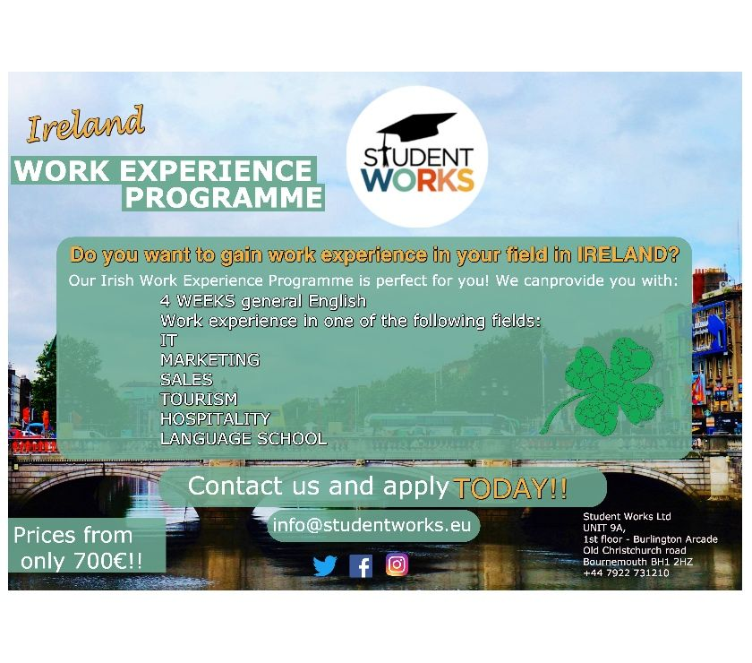 Photos for Work Experience Programme in Ireland