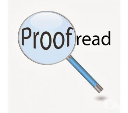 Photos for Proofreading & Editing Essays, Assignments & Dissertations
