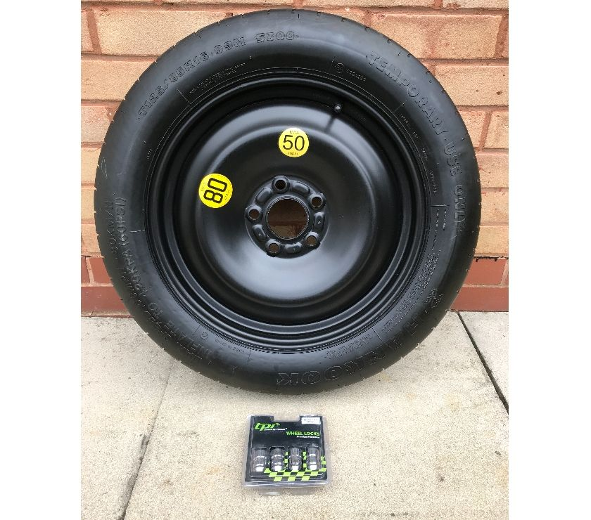 car spares East Riding of Yorkshire Hull - Photos for Space saver wheel, Locking Wheel nuts and 1 Ton Scissor Jack