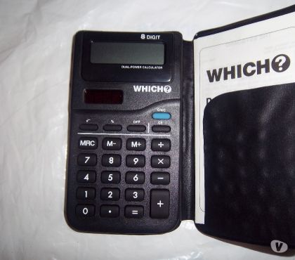 Photos for Solar Powered Duel Power Pocket Calculator.