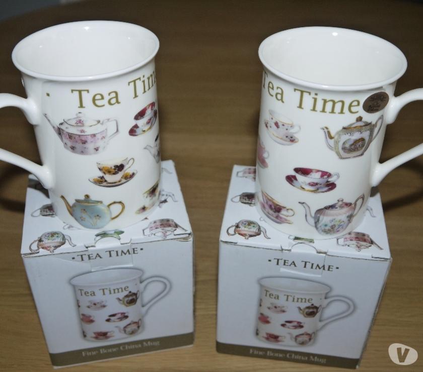 Photos for Leonardo Collection Fine China Teapot, 2 Mugs and Tray