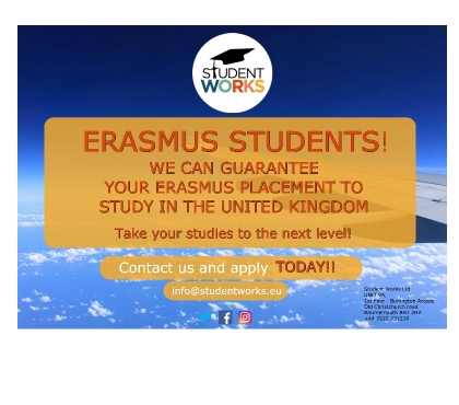 Photos for ERASMUS STUDENTS!