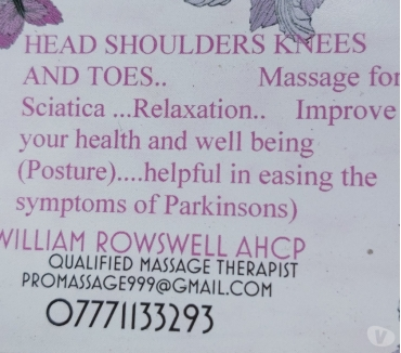 Photos for Male therapist offering a professional full body massage