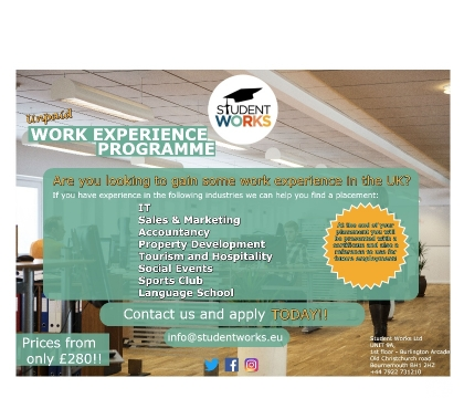 Photos for Unpaid Work Experience Programme