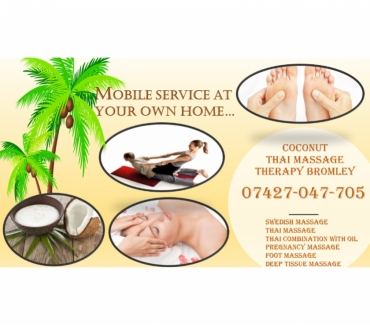 Photos for Coconut Mobile Thai massage therapy Bromley & Shortlands
