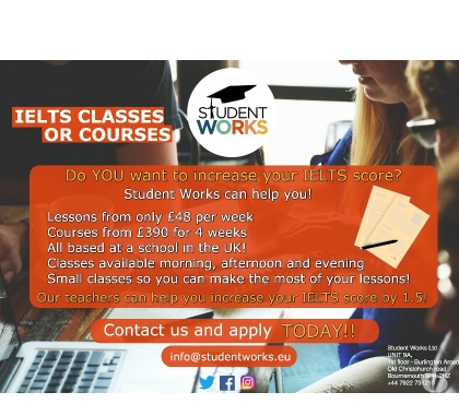 Photos for IELTS courses