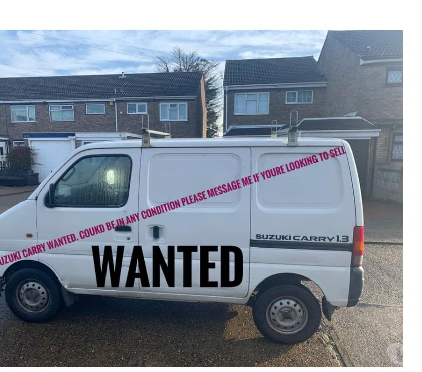 used cars for sale Lincolnshire Spalding - Photos for wanted suzuki carry vans
