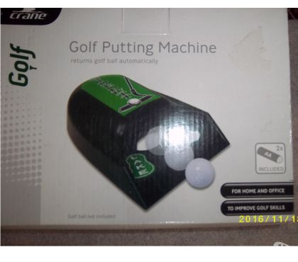 Sports Equipment West Midlands Stourbridge - Photos for Golf Auto Return Putting Machine