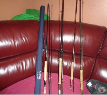 Bicycles Dumfries & Galloway Dumfries - Photos for RETIRMENT SALE HARDY JW YOUNG DAIWA RODS & REELS & TACKLE