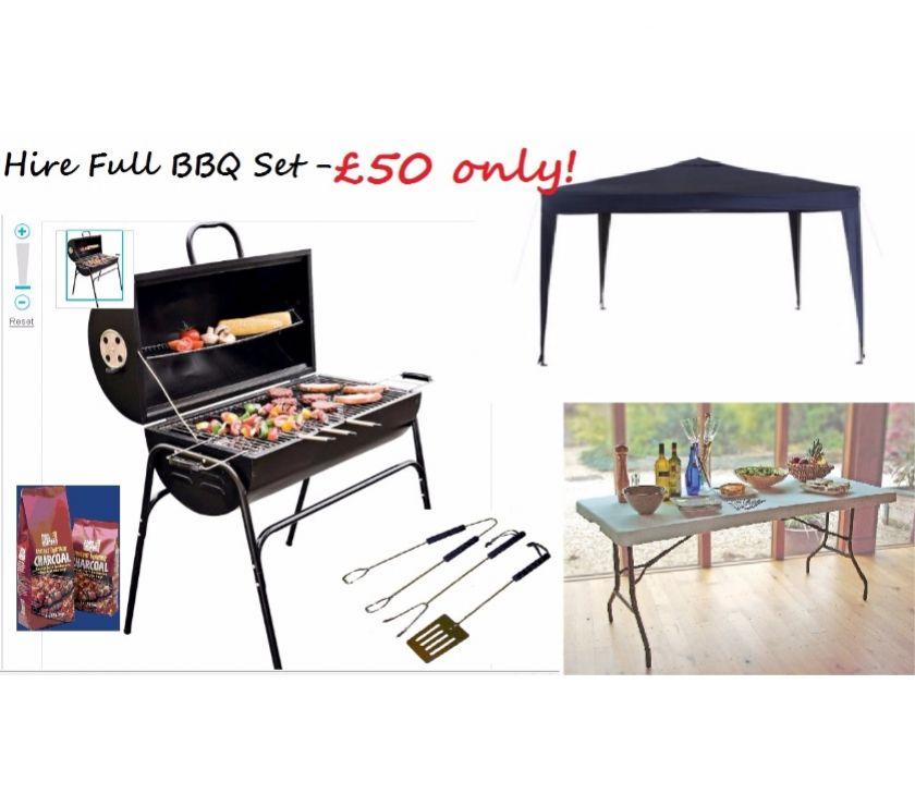 Other Services Hampshire Hook - Photos for BBQ Grills for rent or Hire BBQ Set includes: BBQ Grill BBQ