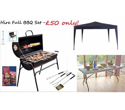 Photos for BBQ Grills for rent or Hire BBQ Set includes: BBQ Grill BBQ