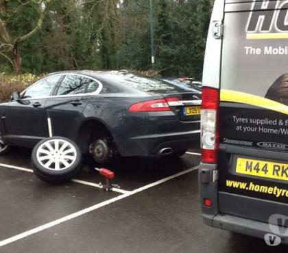 Photos for Jaguar tyres ( With a free mobile fitting service)
