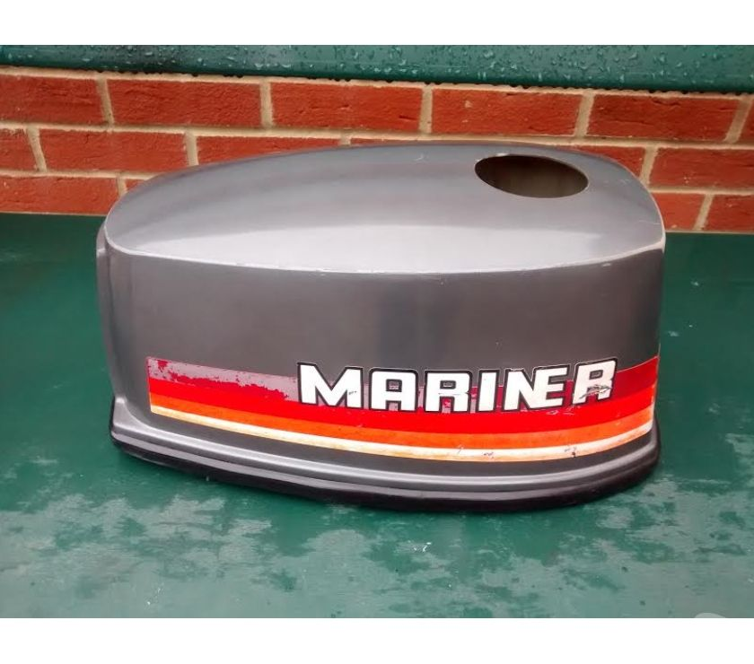 narrow boats for sale Bristol Bristol - Photos for MARINER YAMAHA 4HP 2 STROKE OUTBOARD HOOD LID COVER