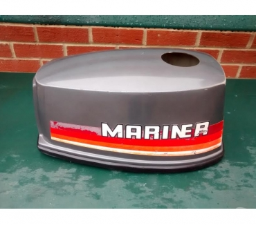 Photos for MARINER YAMAHA 4HP 2 STROKE OUTBOARD HOOD LID COVER