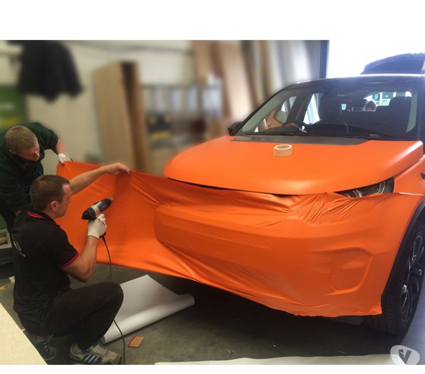 courier services North London Wood Green - N22 - Photos for Vehicle Wrapping Full BodyCar Wrapping in Chelmsford