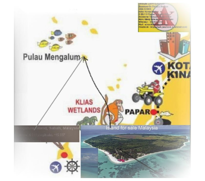 Shops/Businesses for sale - let Central London Strand - WC2 - Photos for 250 Acres Island Resort Pulau Mengalum , KKinabalu For Sales
