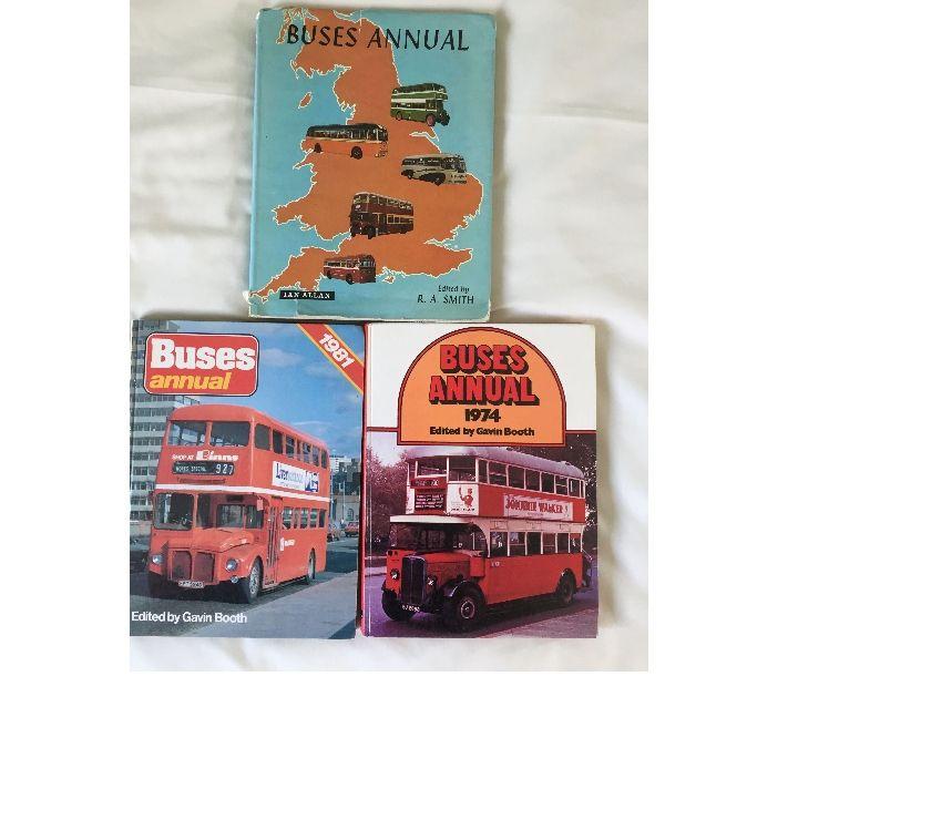 souvenirs Cheshire Warrington - Photos for BUSES ANNUALS 1964, 1974 & 1981