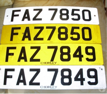 Car Parts & Accessories Lancashire Blackpool - Photos for Consecutive Cherished Number Plates