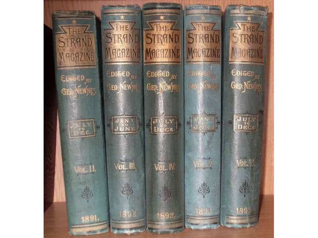 Photos for Sherlock Holmes, original 1st editions